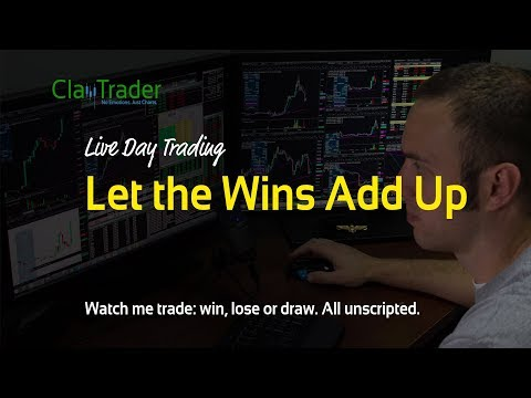 Live Day Trading: Let the Wins Add Up