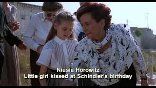 Schindler's List ending