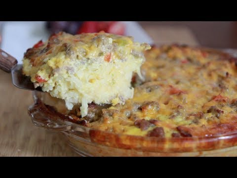 Sausage Hash Brown Casserole Recipe - Brunch anyone?