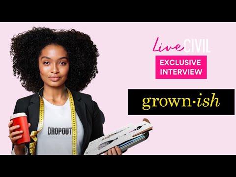 Exclusive Grown-ish Interview | Season 3 | Live Civil