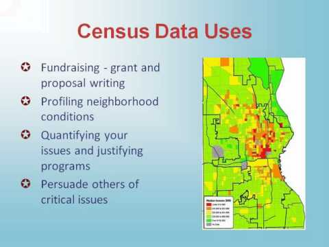 Power in Numbers: Putting 2010 Census Data to Use