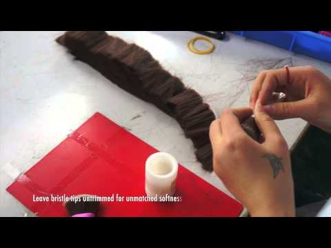 13rushes- The making of animal-friendly brushes