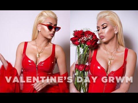 Valentine's Day GRWM (Bath, Hair, Makeup) | TymetheInfamous