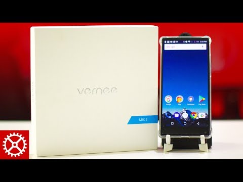Vernee Mix 2 Android Smartphone Unboxing and Review
