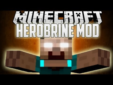 Minecraft: HEROBRINE Mod 1.7.10/1.7.2/1.6.4 (Install Guide Included)