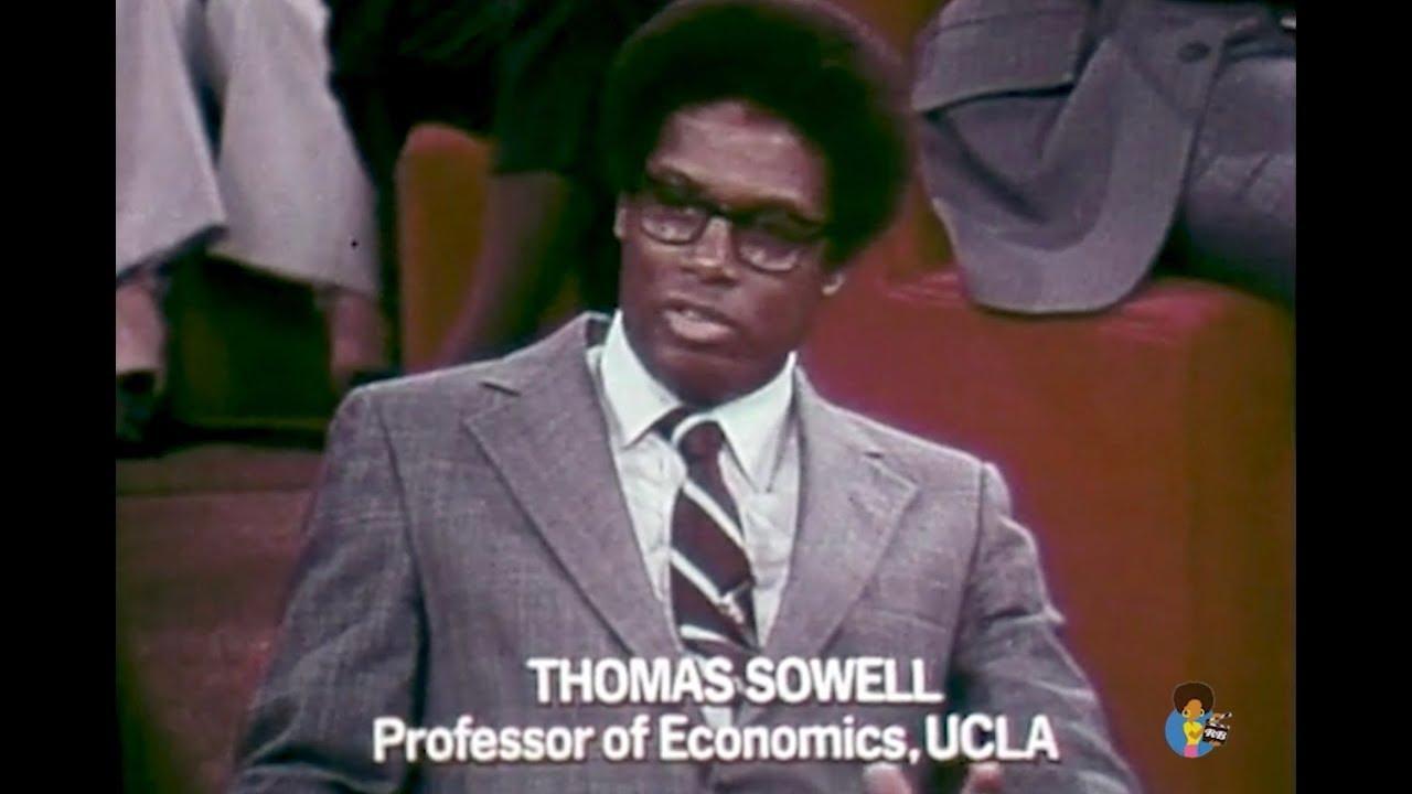 Free To Choose - Milton Friedman on The Welfare System (1978) | Thomas Sowell
