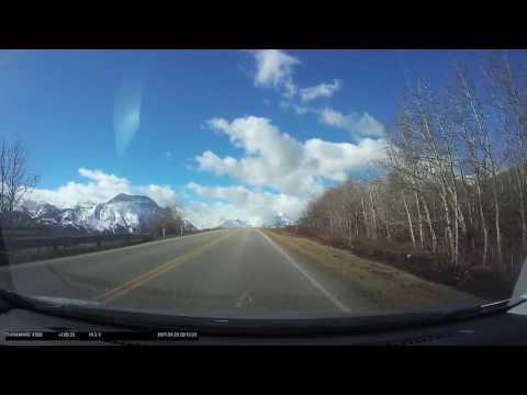 Calgary to Waterton National Park