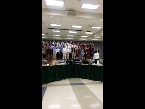 Sycamore Grown-Up Choir Performance