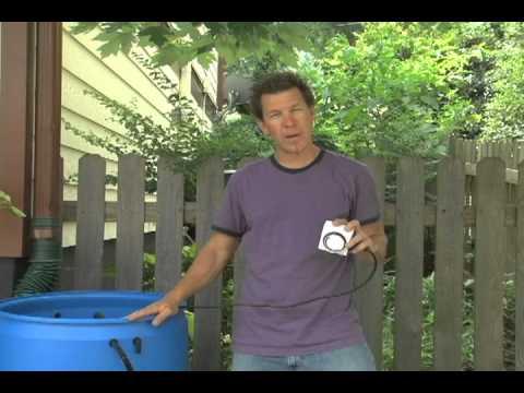 How to Install a Rain Barrel Garden Part 2
