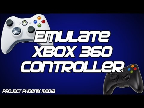 [How To] Make Your PC Gamepad Controller Emulate the Xbox 360 Controller Tutorial [CC]