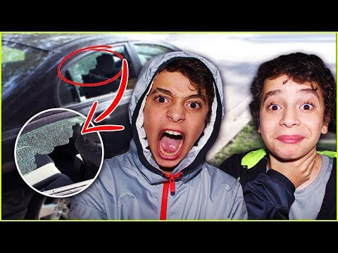 I destroyed my brother's new car (prank gone wrong)