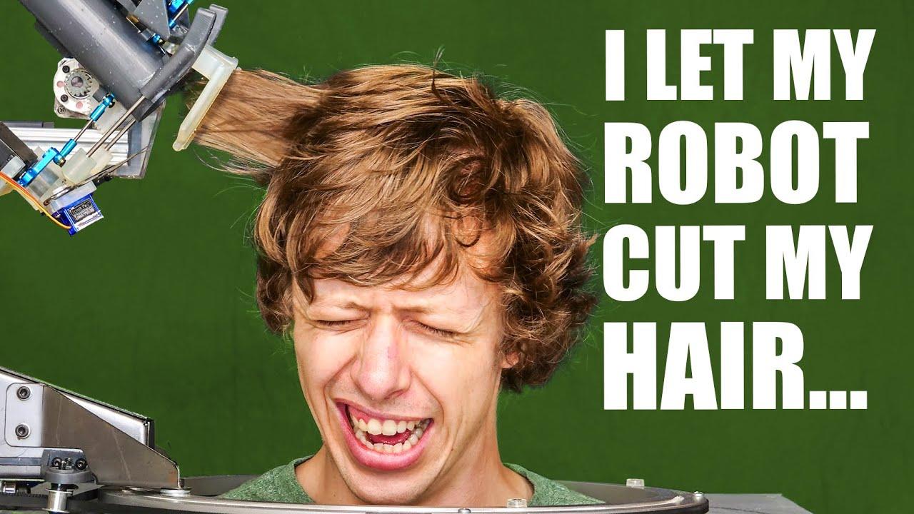 I made a hair cutting machine