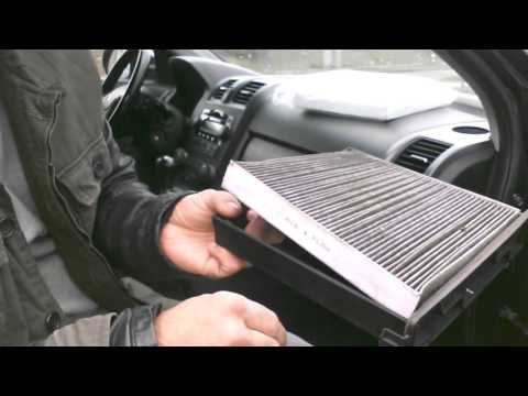 Replacing cabin air filter on 07 Honda CRV