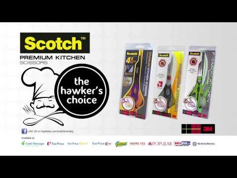 3M™ Scotch™ Titanium Kitchen Scissors (Chinese version)