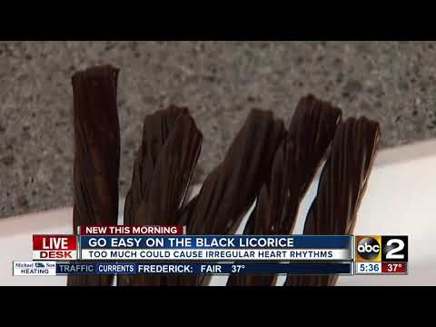 FDA says you can 'overdose' on black licorice