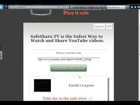 Tutorial - Safeshare.tv Basics