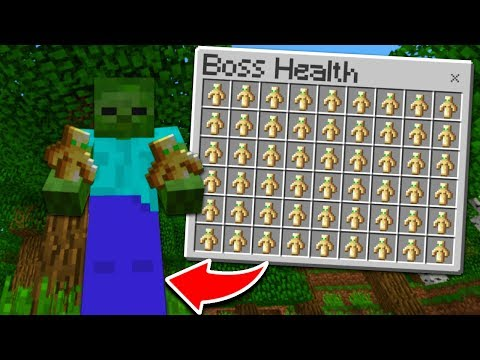 THIS MINECRAFT BOSS CAN NEVER DIE!