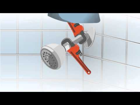 Hand-Held Shower Head Installation