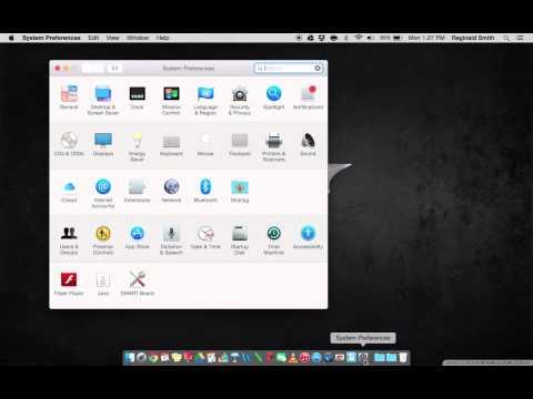 Managing your MacBook Dock