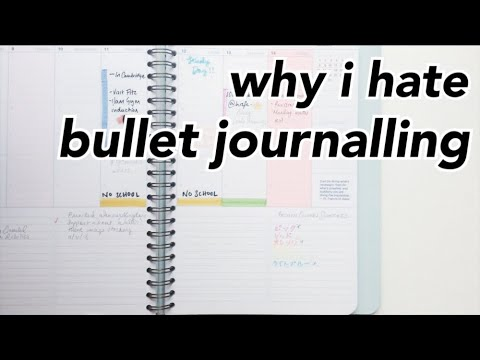 ♡ why I don't bullet journal + how I plan instead ♡