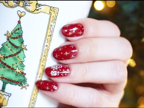 Easy Christmas Nails 2016