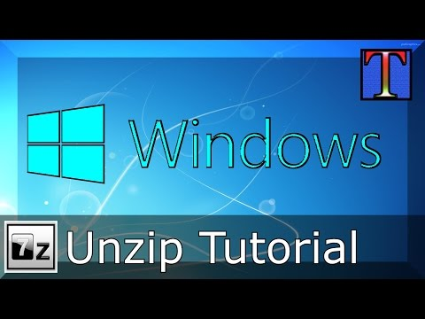 How To Unzip A File In Windows 10 Using 7-Zip | Quick & Easy Tutorial | 1440p60