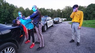 POLICE PRANK ON TWIN BROTHER!