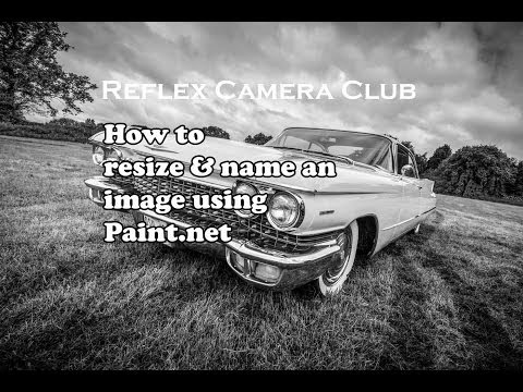 How to resize an image in Paint.net