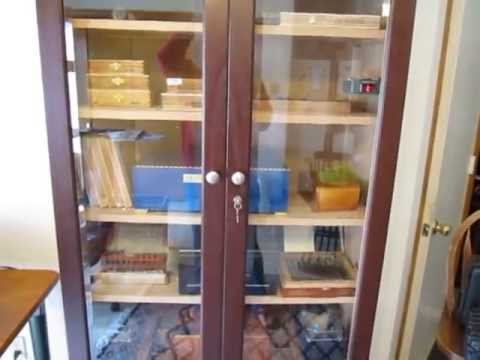 Lets talk about Humidors - Aristocrat Armoire Humidor Review