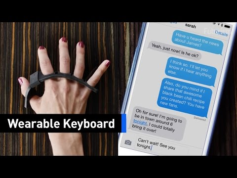 Increase Your Typing Accuracy To 99% With This Wearable Keyboard