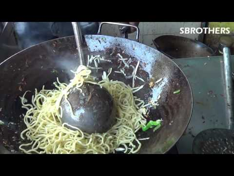 Indian Street Food - Street Food || Vegetable Noodles Recipe | Indian Street Food Mumbai