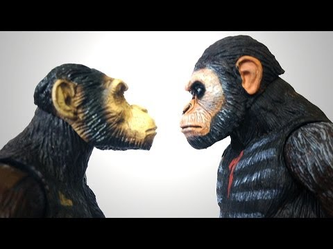Planet of the Apes CAESAR - HIYA vs NECA Action Figure Comparison