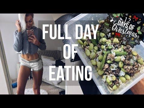 Full Day of Eating - 12 Days of Christmas