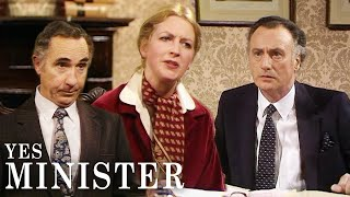 The Guardian Accuse The Minister of Bribery | Yes Minister | BBC Comedy Greats