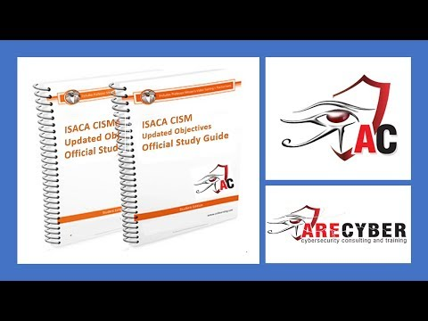 CISM Section 1 l  Information Security Governance - Part 1 l CISM Certification l  ARECyber  LLC