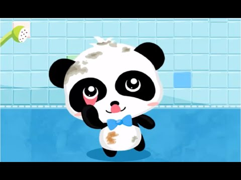 Baby Panda's Bath Time | Take a Shower And Play | Babybus  Kids Games
