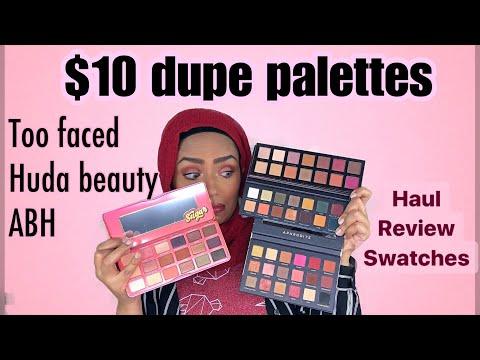 Is it legit? $10 Dupes - Shophush Haul + Swatches
