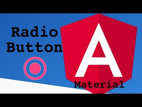Angular Material Radio Button