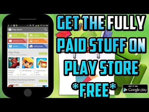 How To Download All Paid Apps, Books And Movies Free From Play Store For Android ||Without Root