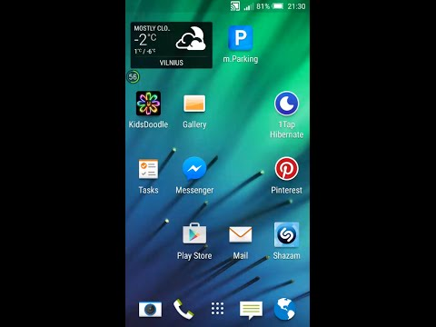 How to manually select network HTC One