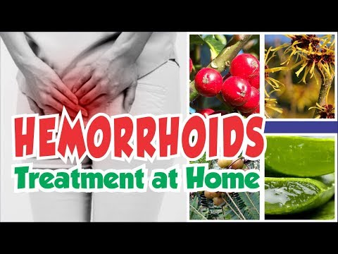 How To Treat Hemorrhoids At Home With Natural Ingredient