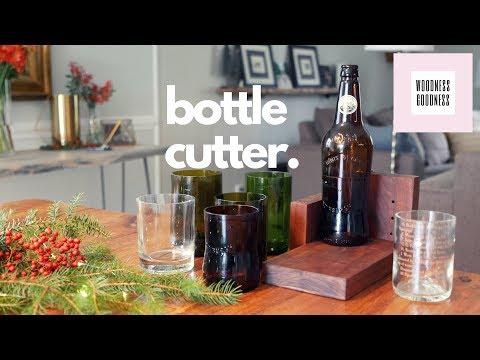 DIY Christmas Gift - Glass Bottle Cutter