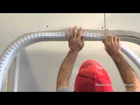 How To Install Bullnose Drywall Corner Bead