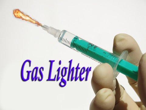 how to make Syringe Gas lighter| EASY