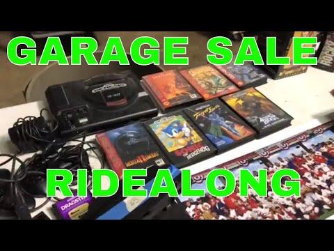 Garage Sale Ridealong-Sega Genesis, Vinyl Records & Bobbleheads