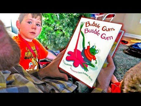 Bubble Gum, Bubble Gum | A Hilarious Children's Book Reading