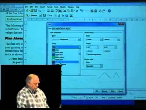 Creating Greeting Cards using LibreOffice Draw