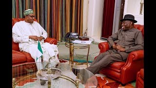Just In : Jonathan Currently Meeting Buhari In Aso Rock