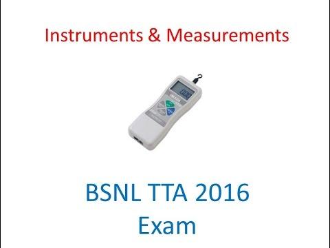 Measurements  & Instruments