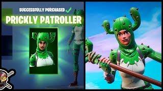 new prickly patroller skin in fortnite - fortnite pizo
